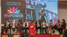 The WePOWER Strategic and Institutional Partners (SIPs) at the Official Launch of WePOWER and Activities Session; announcing activities for the coming two years to support the objectives of the network; Feb 20, 2019 - Kathmandu, Nepal.  Photo: World Bank