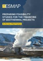 Raport o przygotowaniu studiów wykonalności dla projektów geotermalnych