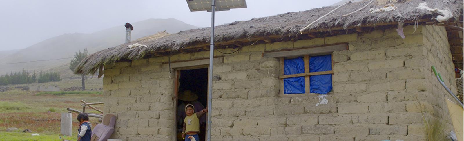 Solar Power Lights up Rural Bolivia