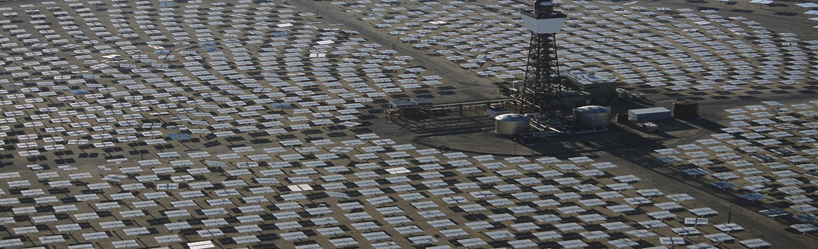 Concentrated Solar Power mirrors