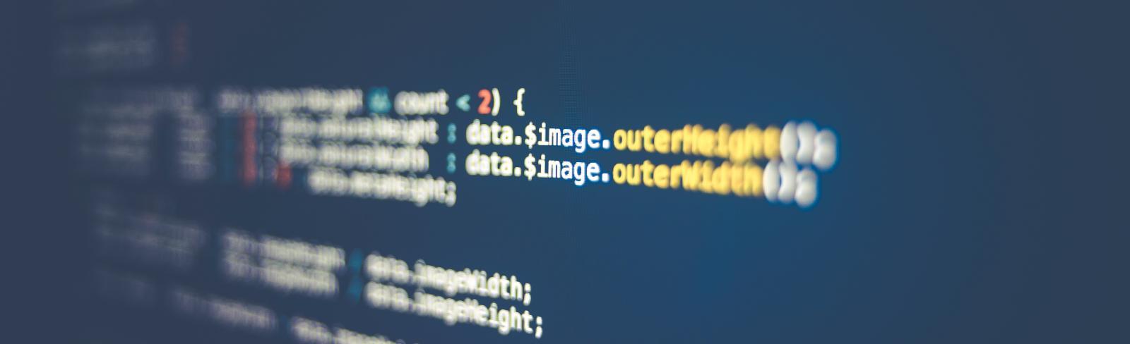 Computer code. Photo by Markus Spiske via Unsplash