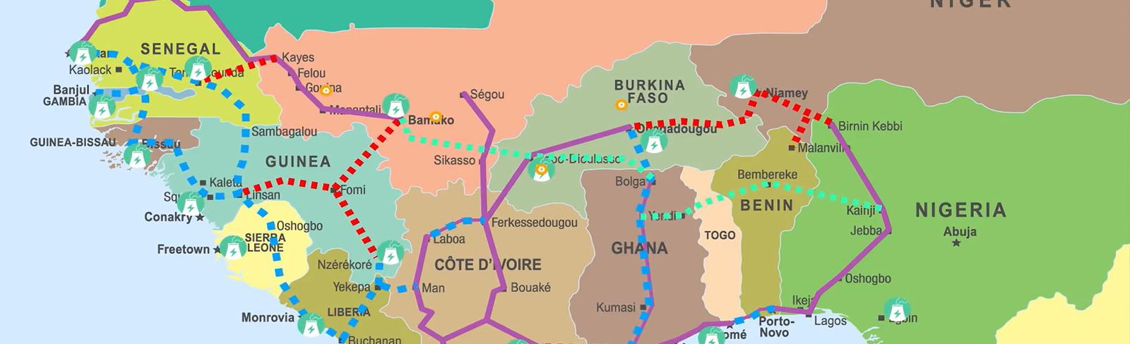 A Strategy for Power Trade Across West Africa