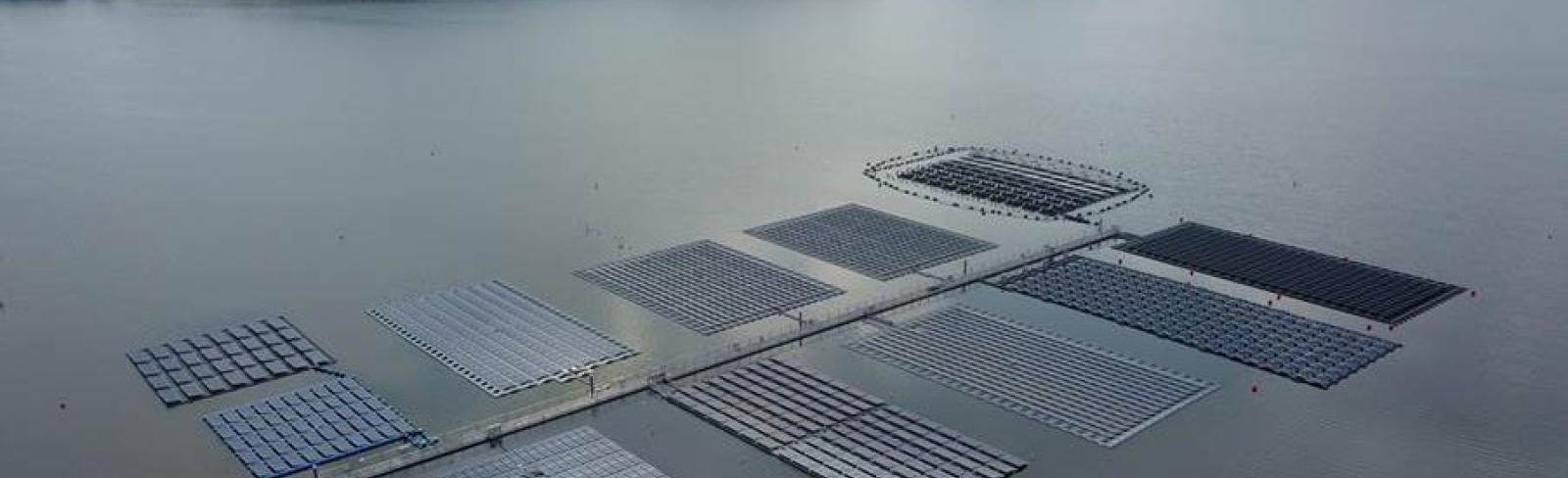 Growing Exponentially, Floating Solar Opens Up New Horizons for Renewable Energy: Report
