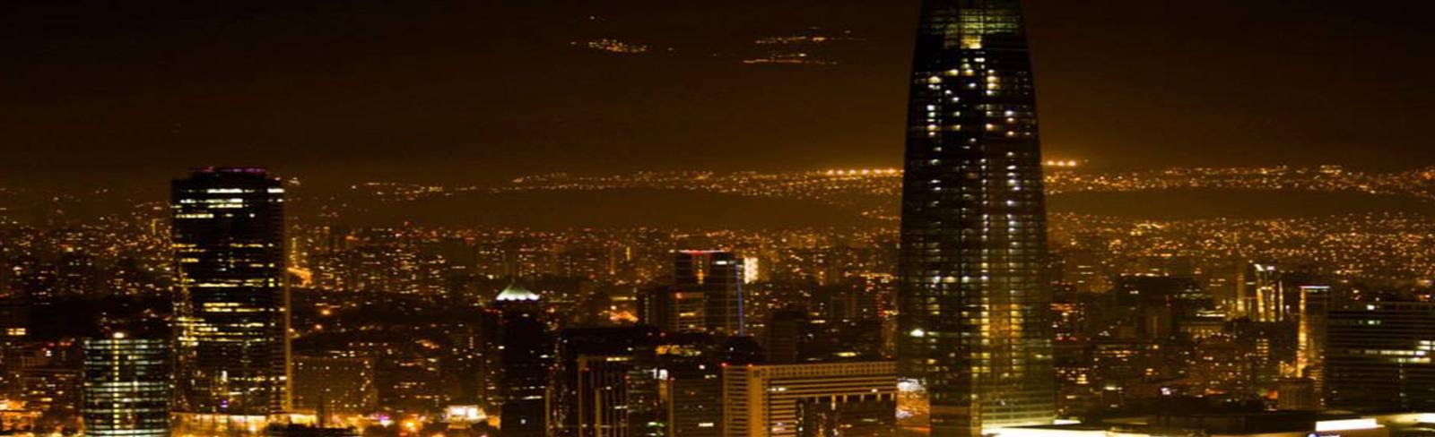 Santiago at night, power planning