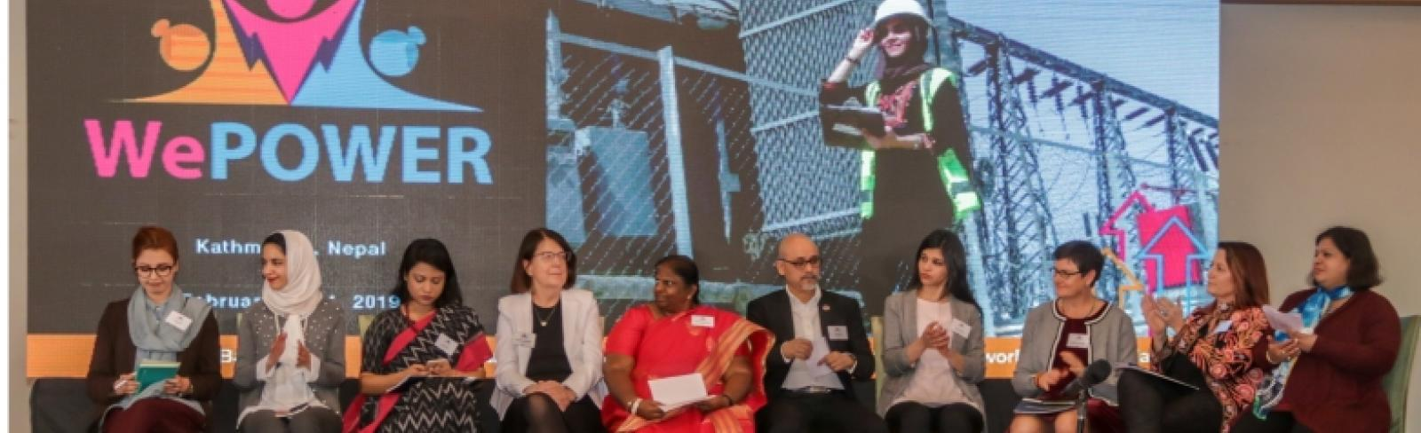 WEPOWER Conference Promotes Gender Diversity in Energy Sector Across South Asia
