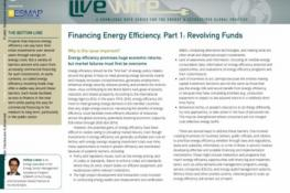 Financing Energy Efficiency, Part 1 : Revolving Funds