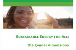 Sustainable Energy for All: The Gender Dimensions Guidance Note