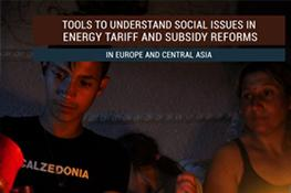 Tools to Understand Social Issues in Energy Tariff and Subsidy Reforms in Europe and Central Asia