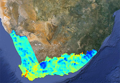 Wind South Africa IRENA Global Atlas