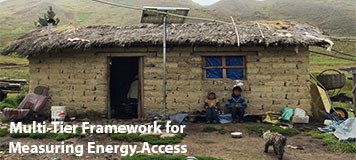 Multi Tier Framework for Measuring Energy Access
