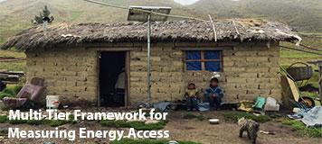 Multi Tier Framework for Measuring Energy Access