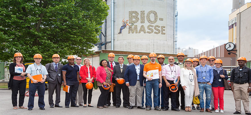 Spittelau Wien Energie: Field Visit of te Spittelau Waste Incineration plant and district cooling center