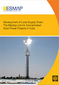 Development of Local Supply Chain | The Missing Link for Concentrated Solar Power in India