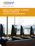 Public Procurement of Energy Efficient Products:  Lessons from Around the World