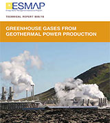 Greenhouse Gases from Geothermal Power Production